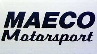 Click here to order an official MAECO Motorsport racing decal.